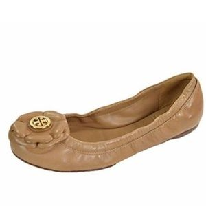 Tory Burch Shelby Patent Leather Ballet Flats